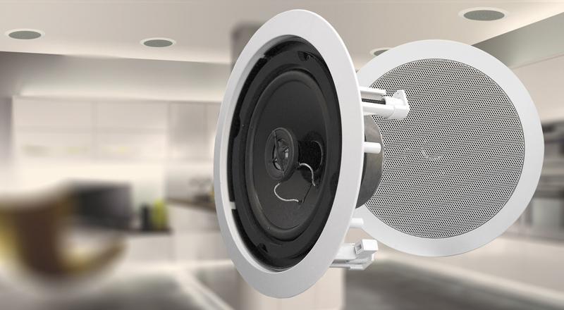 Flush Mount 6 5 Ceiling Speakers Wintal