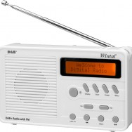 Also available in white: DAB10W Wintal Digital Radio